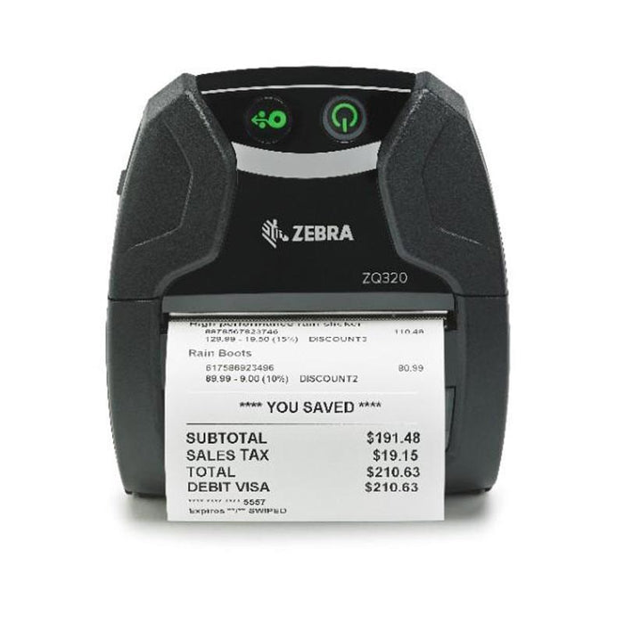 ZQ32-A0E02TE-00 - Small mid-tier mobile printer - 128MB RAM