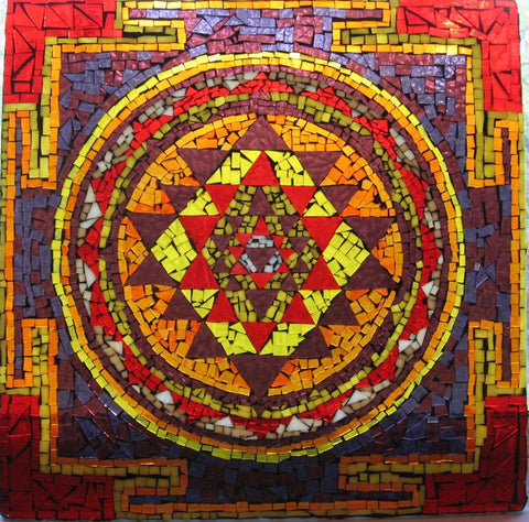 ... by two rows of (8 and 16) petals, representing the lotus of creation and reproductive vital force. The location chosen for the Sri Yantra on the Sacred ...