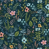 "Rifle Paper Co. Amalfi ""Herb Garden"" (Navy) 3-Layer Olson Face Mask"