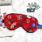 SPECIAL EDITION Rifle Paper Co. Wonderland Fleece Sleeping Eye Mask