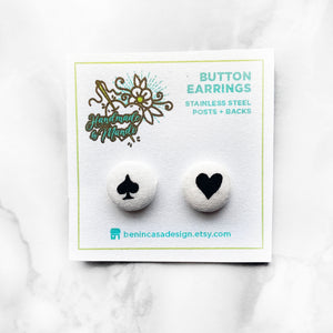 "Rifle Paper Co. ""Wonderland"" Button Earrings"