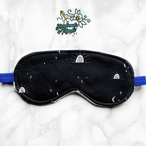 Celestial Lights Polar Fleece Sleeping Eye Mask
