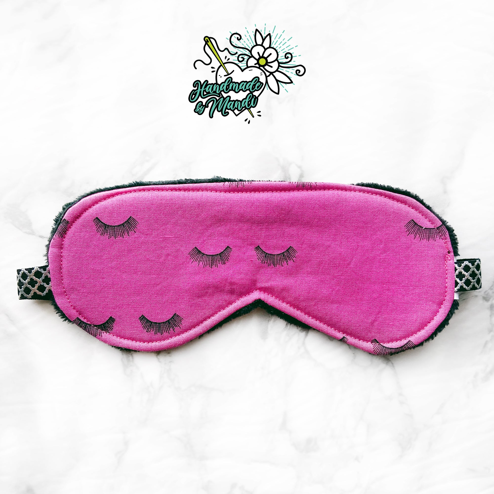 """Beauty Sleep"" Polar Fleece Sleeping Eye Mask"