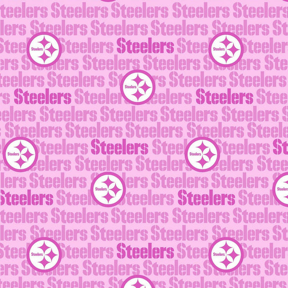 LIMITED EDITION Pittsburgh Steelers (Pink) 3-Layer Olson Face Mask