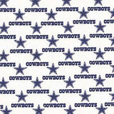 LIMITED EDITION Dallas Cowboys (White) 3-Layer Olson Face Mask