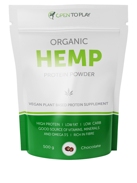 Organic Hemp Protein - Chocolate