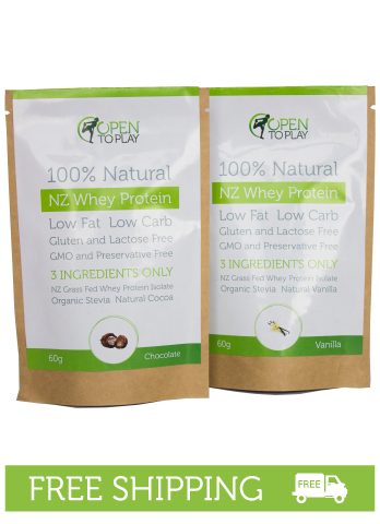 NZ Whey Protein Sample Pack
