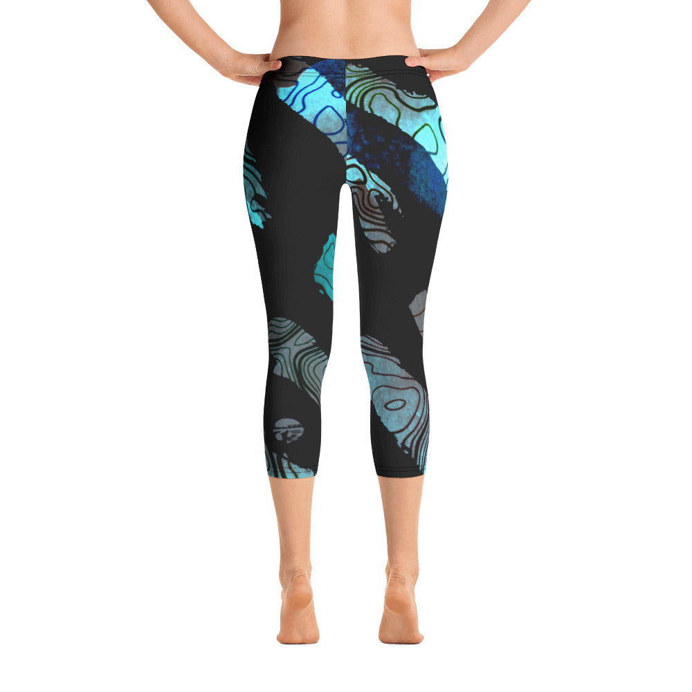 Capri Leggings - Night Changers