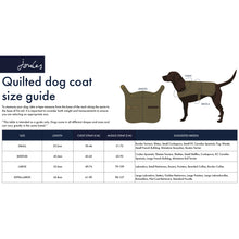 Load image into Gallery viewer, Joules Quilted Dog Coat in Navy