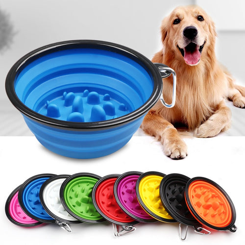 Dog bowl for camping, fast years, silicone collapsable dog bowl, eat to clean, camping dog bowl, hiking dog bowl. Glamping dog supplies