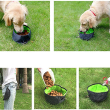 Load image into Gallery viewer, Large Capacity Collapsable Dog Bowl Ideal for Out Doors / Travel