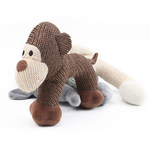 Chew Dog Toy Carry Toy Monkey For chewing and carrying! Cheeky chap!
