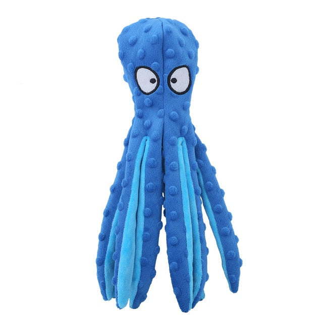 Crinkly octopus - great fun soft toy!