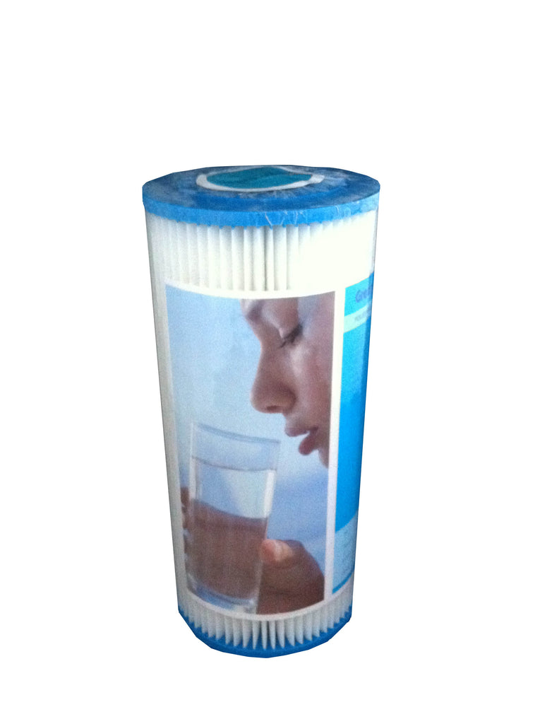 10 Inch Jumbo Pleated Reusable Water Filter Cartridge - Water Filter Men