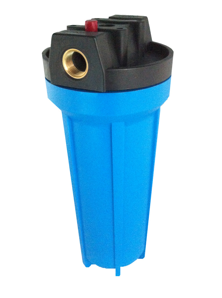 10 inch Water Filter Housing 1/2 inch Ports - Water Filter Men