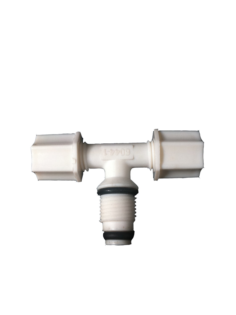 Double o ring Male Branch Tee Fitting Jaco T - Water Filter Men