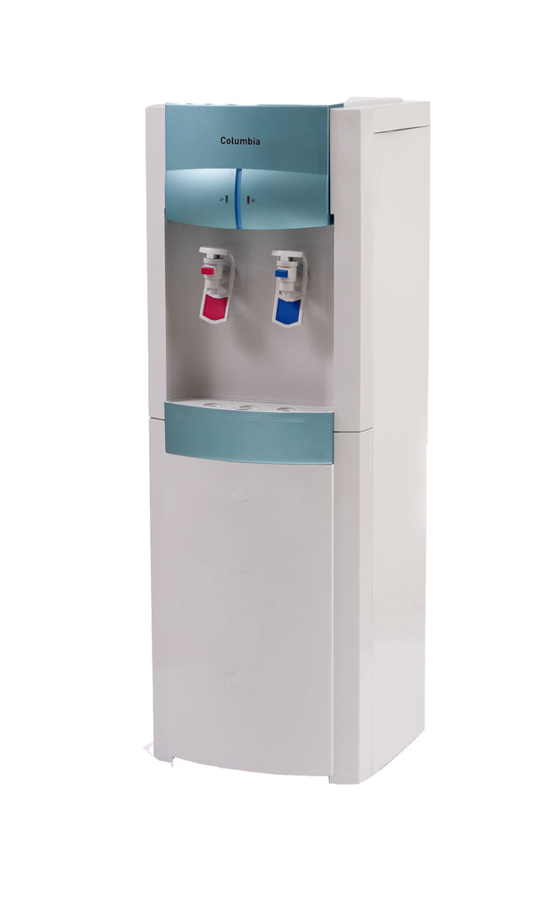Mains Fed Free Standing Water Cooler Deluxe - Water Filter Men