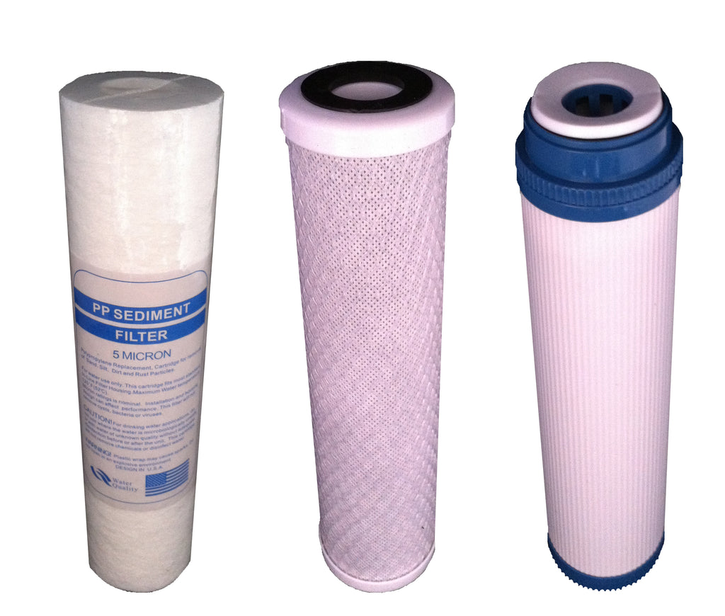 NW16 Replacement Filter Set - Water Filter Men