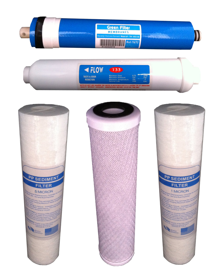 Complete Reverse Osmosis Filter Set Option 2 - Water Filter Men