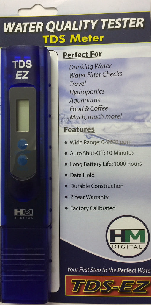 Reverse Osmosis TDS Handheld Digital Meter Water Tester - Water Filter Men