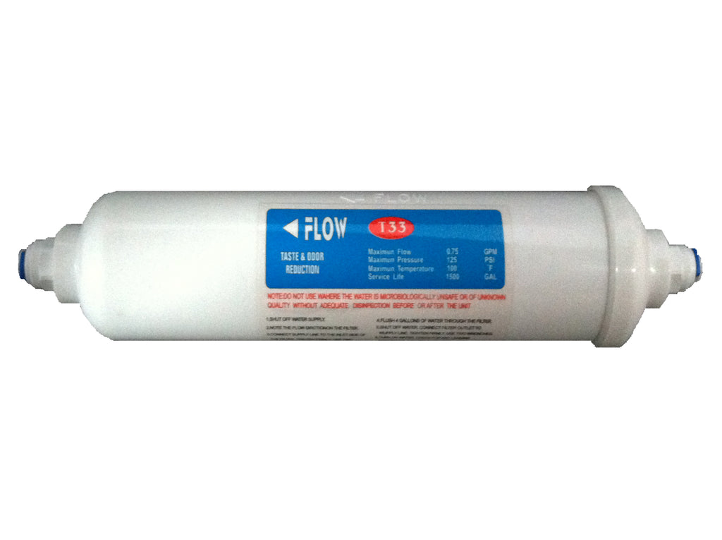 Inline Taste and Odour Water Filter (Large) - Water Filter Men