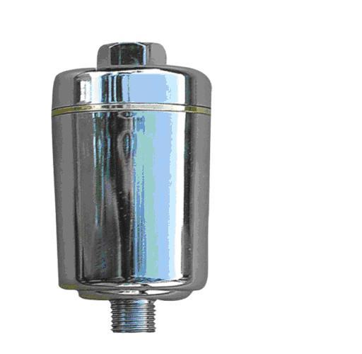 Inline Shower Water Filter Chrome - Water Filter Men