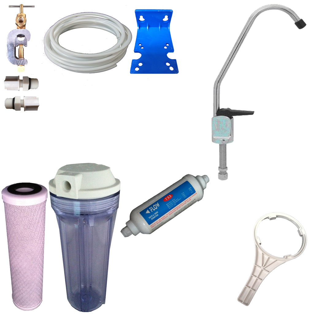 NW28 Carbon Undersink Water Filter System - Water Filter Men