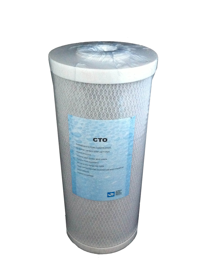 10 Inch Jumbo Carbon Block Water Filter Cartridge - Water Filter Men