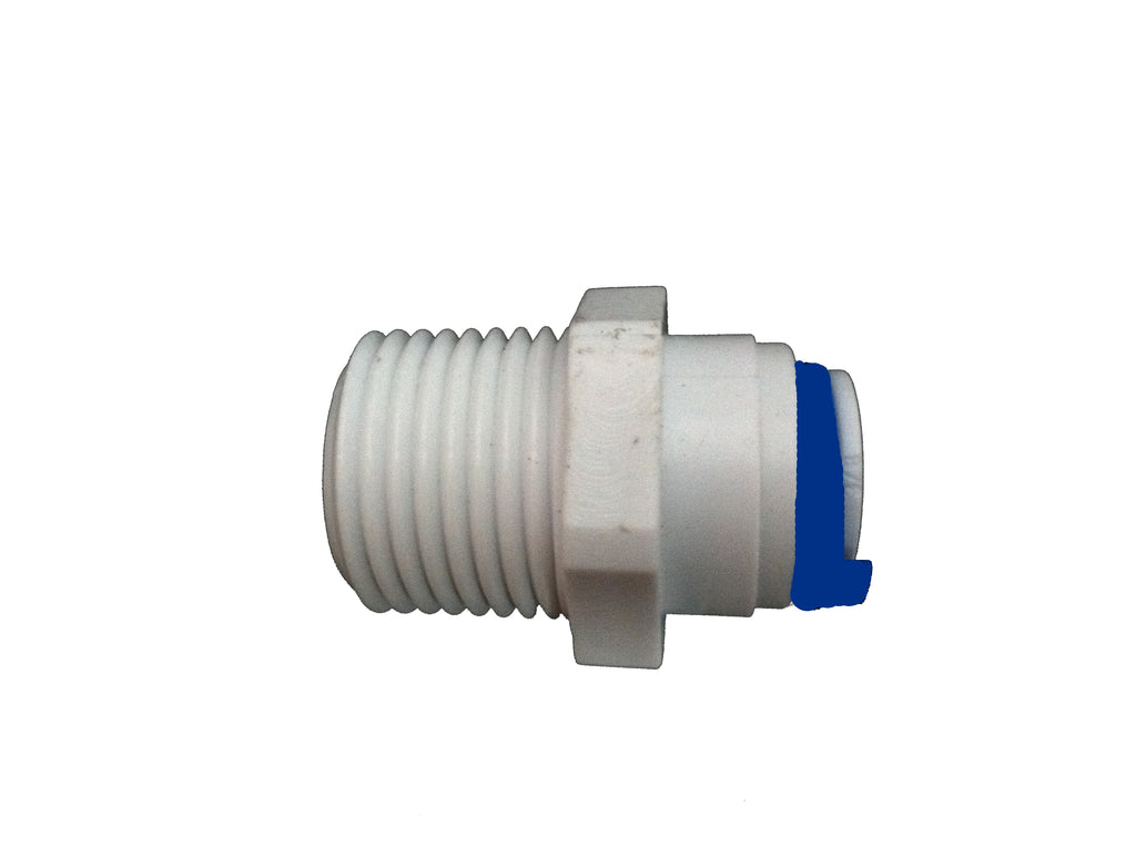 Quickfit Push Fittings Straight Adaptors - Water Filter Men