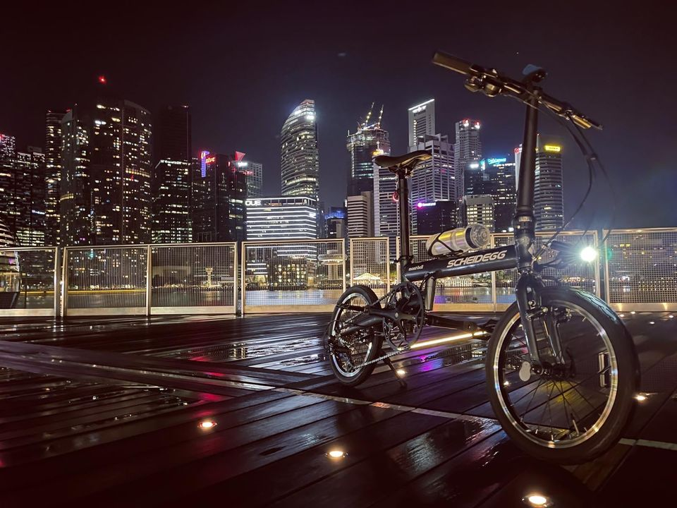 Montbell Foldable Bicycle Singapore
