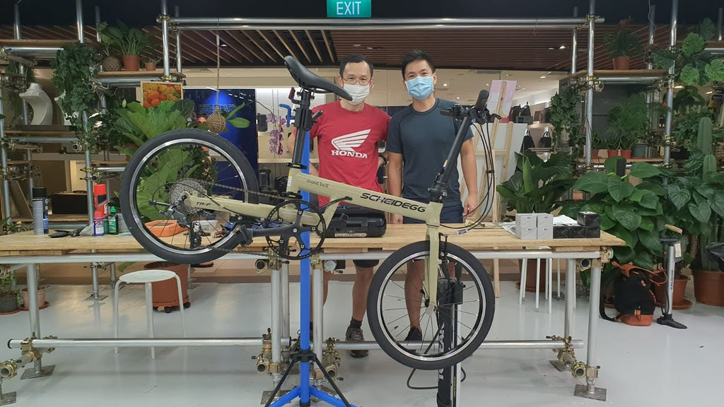 Foldie Training course Singapore Foldable Bicycle