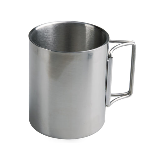 ACECAMP S/S OUTDOOR CAMPING DOUBLE-WALL CUP 220 ML Portable Stainless Steel
