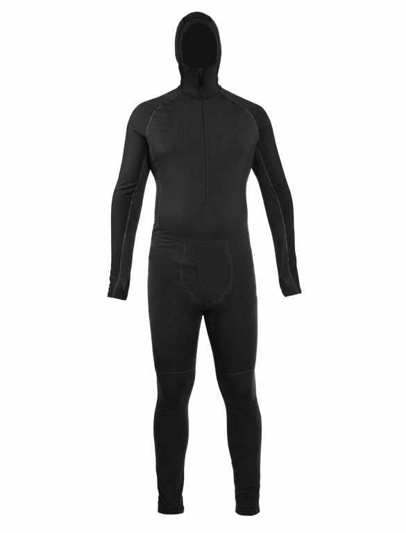 Icebreaker Base Layer Men Merino Wool 200 - Zone One Sheep Suit - Winter Outdoor Camping Trekking Hiking