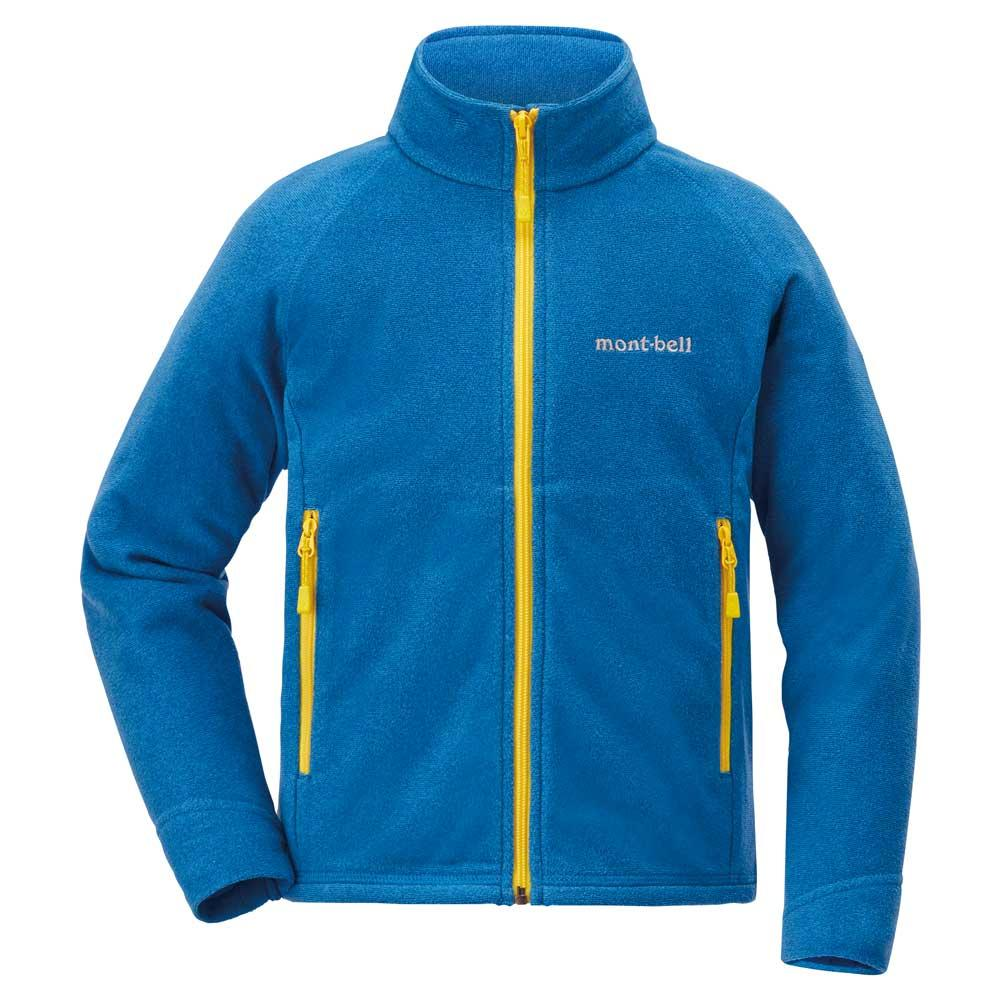Montbell Japan Fleece Jacket Kids UNISEX - CHAMEECE - Outdoor Wind Resistant Quick Wicking Breathable