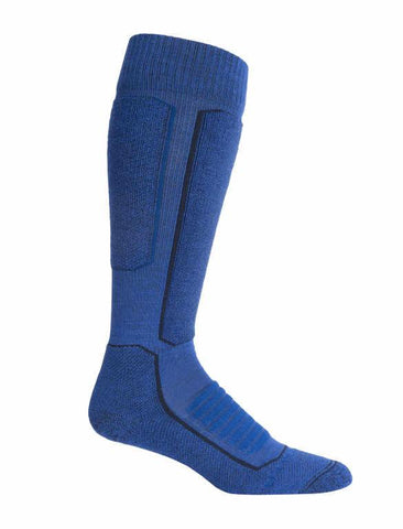 Icebreaker Merino Men Ski+ Medium Over-The-Calf Socks Trekking Camping Outdoor