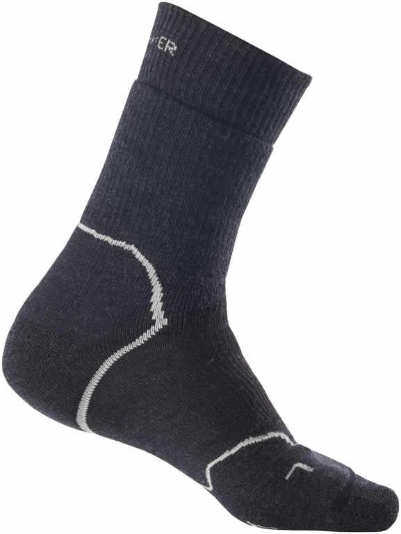 Icebreaker Merino Men Hike+ Heavy Crew Socks Trekking Camping Outdoor