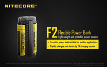 Load image into Gallery viewer, Nitecore F2 Flex Power Bank Charger