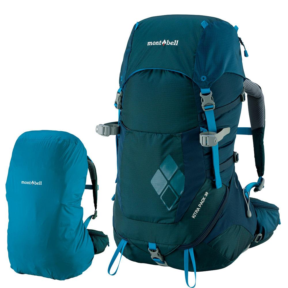 Montbell Japan Backpack Women - Kitra Pack - Outdoor Travel Trekking Camping 30 Litre
