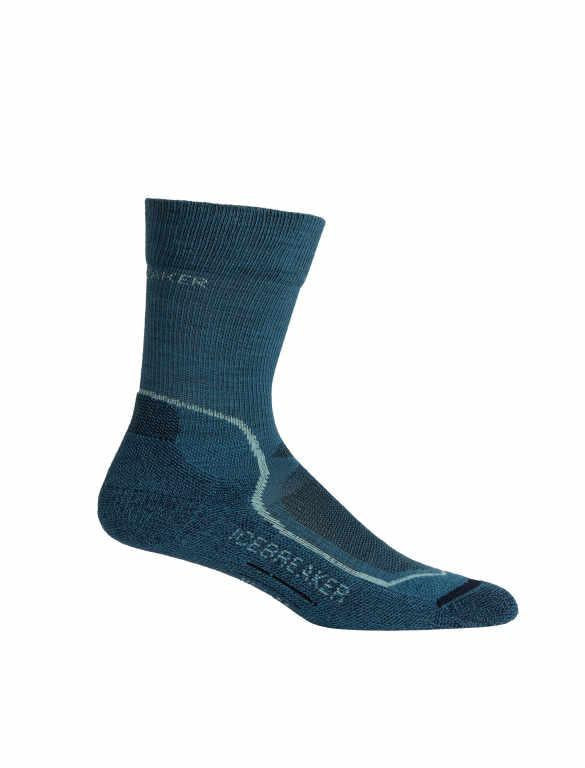 Icebreaker Merino Women Hike+ Light Crew Trekking Socks Camping Outdoor
