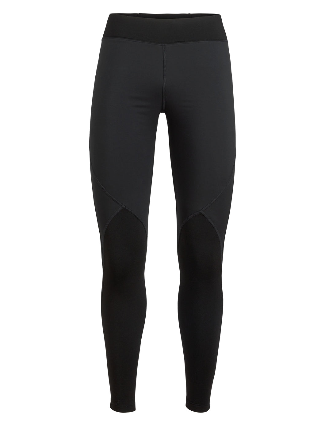 Icebreaker Merino Women Tech Trainer Hybrid Leggings Tights - Winter Running Training Outdoor Cold Weather