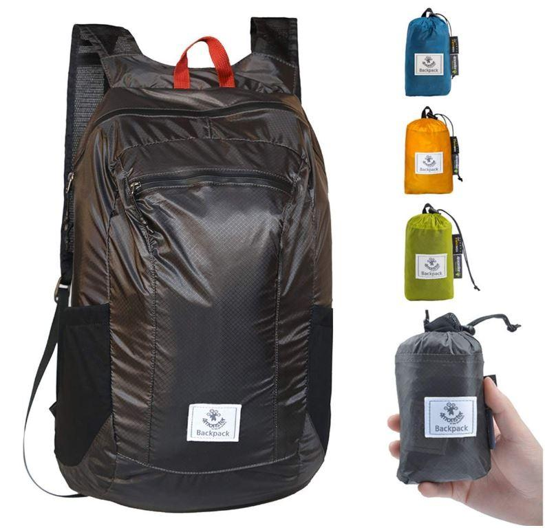 4Monster Backpack 24 Litres Waterproof Lightweight Foldable Pocketable Daypack Travel Hiking