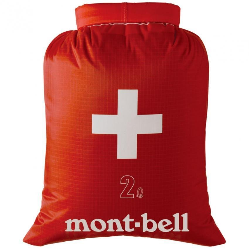 Montbell Japan Aquapel First Aid Bag Outdoor Emergency Survival Water Resistant 2 Litres