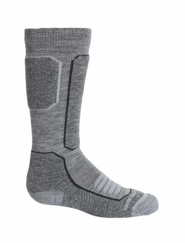 Icebreaker Merino Kids Ski+ Medium Cushion Over The Calf Socks - Winter Outdoor