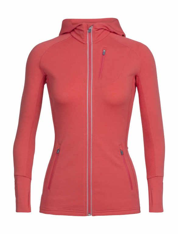 Icebreaker Merino 260 Women Quantum Hoodie Sports Jacket Training Outdoor Camping