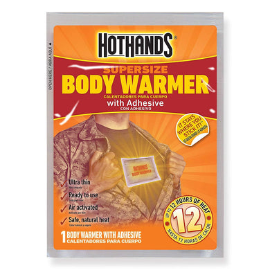 Hothands Body Warmers Adhesive Cold Winter Weather: 10 Packs