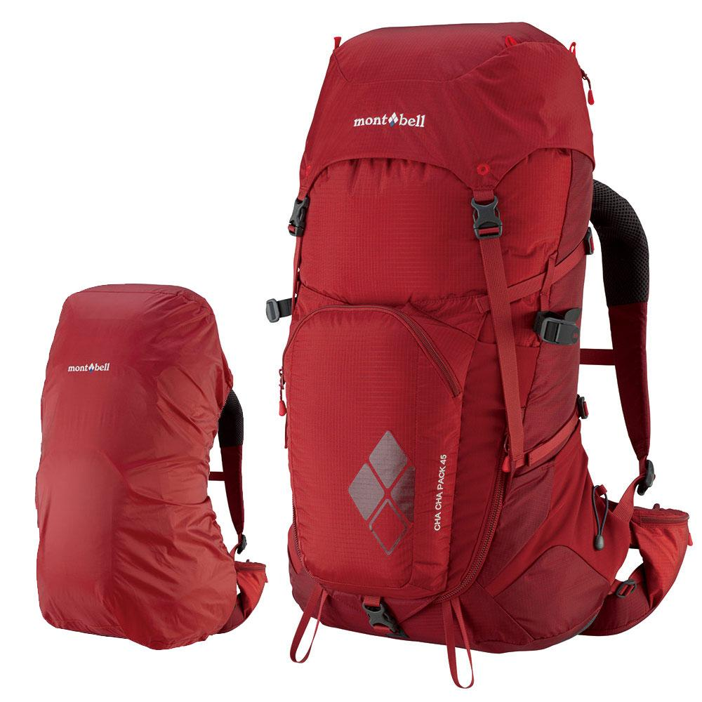 Montbell Japan Cha Cha Pack 45 Litres Unisex Backpack Travel Hiking Outdoor