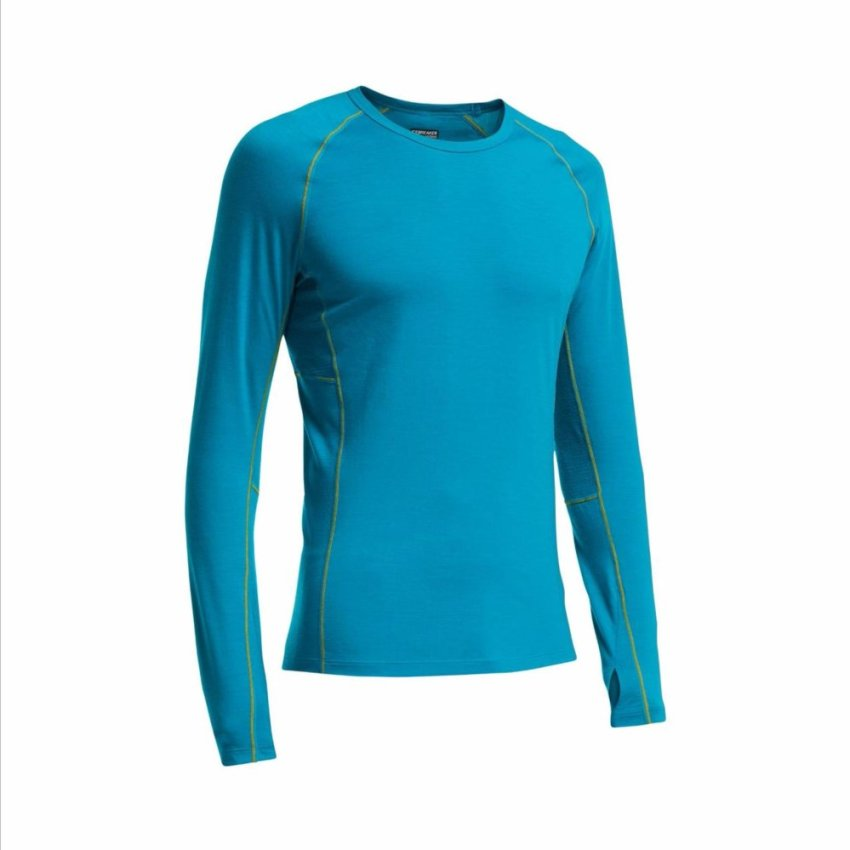 Icebreaker Long Sleeve Crew Men Merino 200 - Zone - Outdoor Wicking
