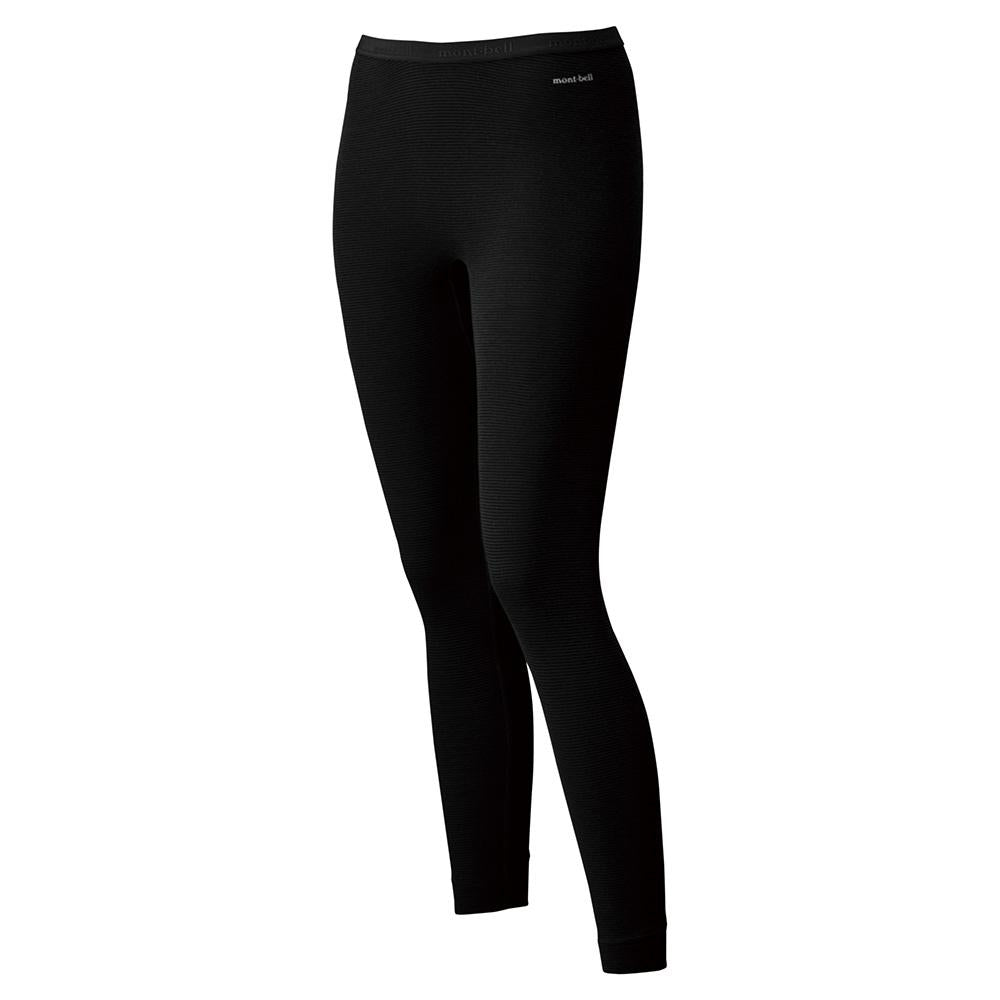 Montbell Japan Base Layer Tights Leggings Women - ZEOLINE Expedition Weight - Cold Weather Winter Climate Outdoor