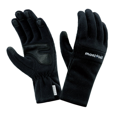 Montbell Japan Windstopper Thermal Gloves Women - Winter Outdoor Trekking Touchscreen Compatible