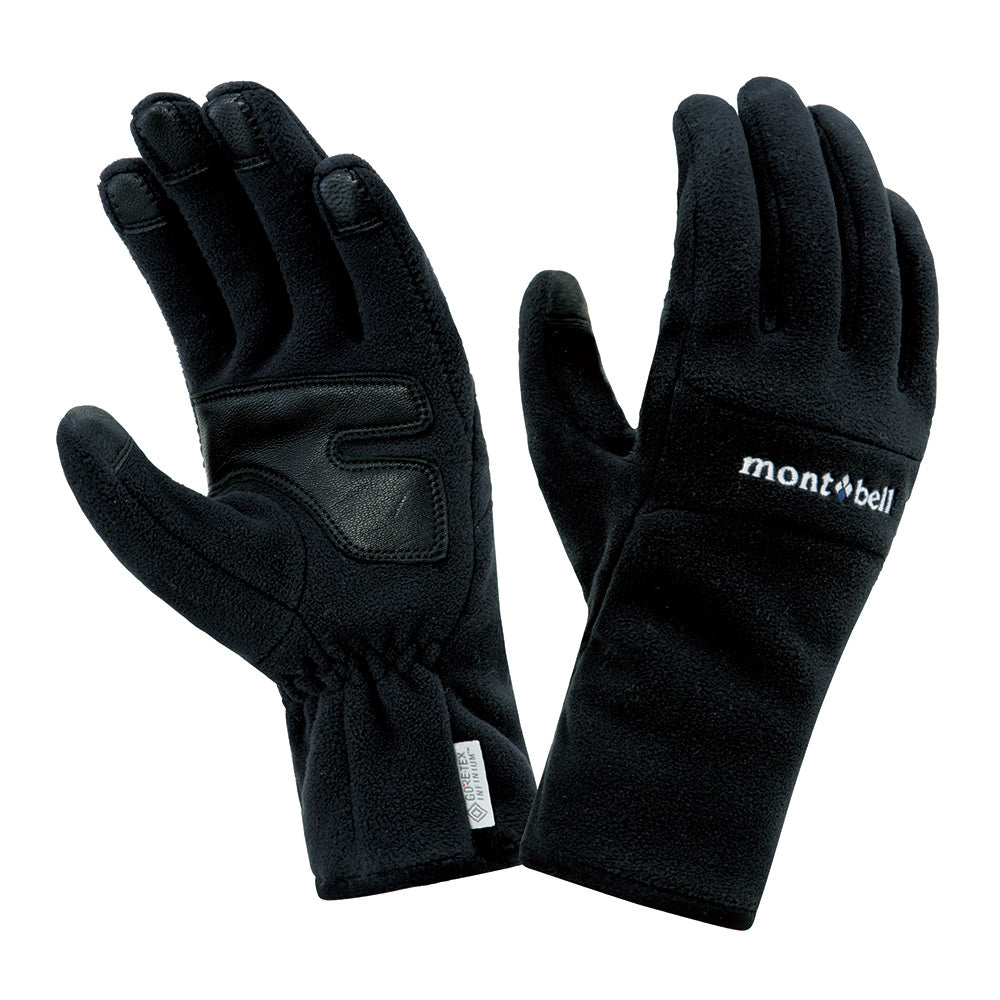 Montbell Japan Windstopper Thermal Gloves Men - Winter Outdoor Trekking Touchscreen Compatible